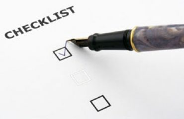 Checklist Featured Image
