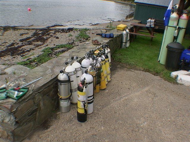 Gas Blending Loch Striven